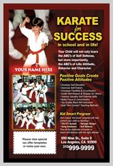 Martial Arts Design Templates For Marketing Ad Cards Ma000501