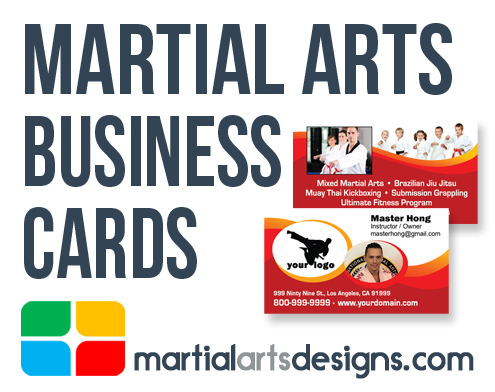 Martial Arts Business Card Templates