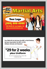 Martial Arts Design Template ma001002 business cards