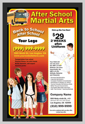 Martial Arts Design Template ma001002 small flyer
